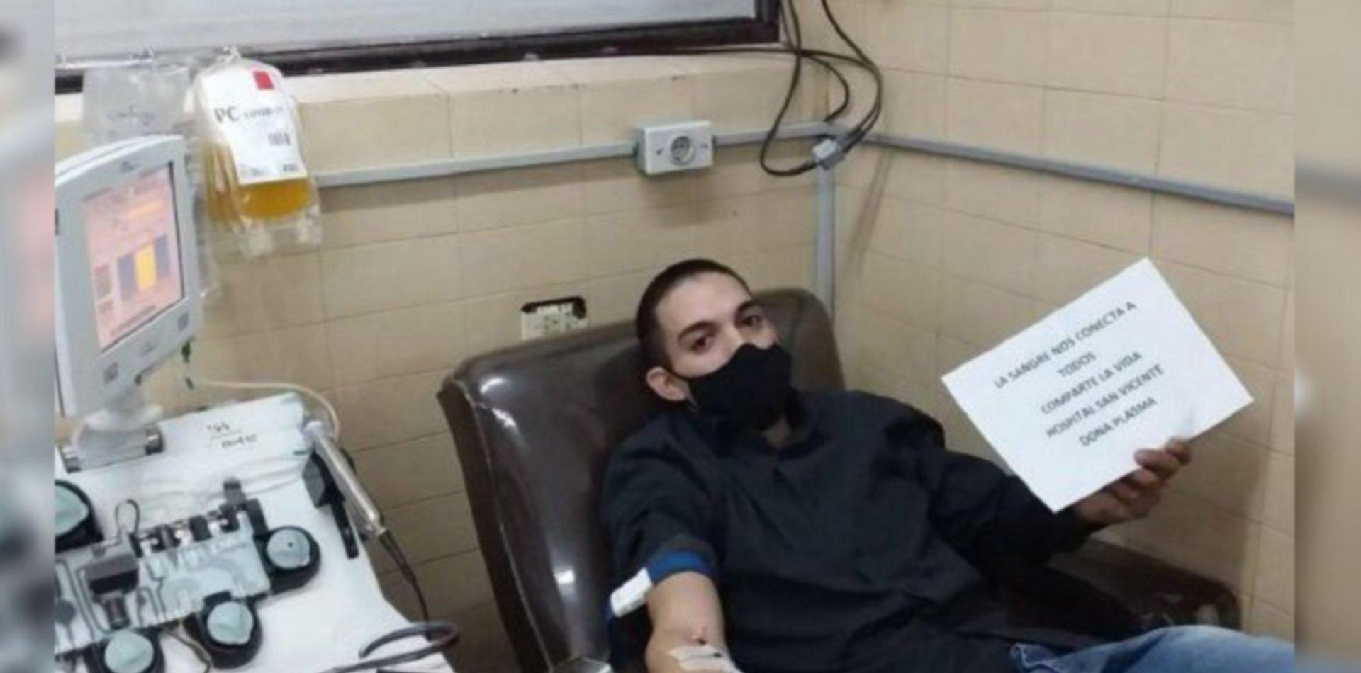 Los hijos del primer enfermero fallecido por coronavirus donaron plasma en La Plata