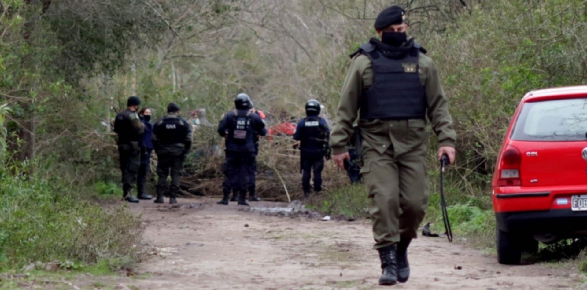Tensión por enfrentamientos en otra zona de tierras ocupadas de La Plata