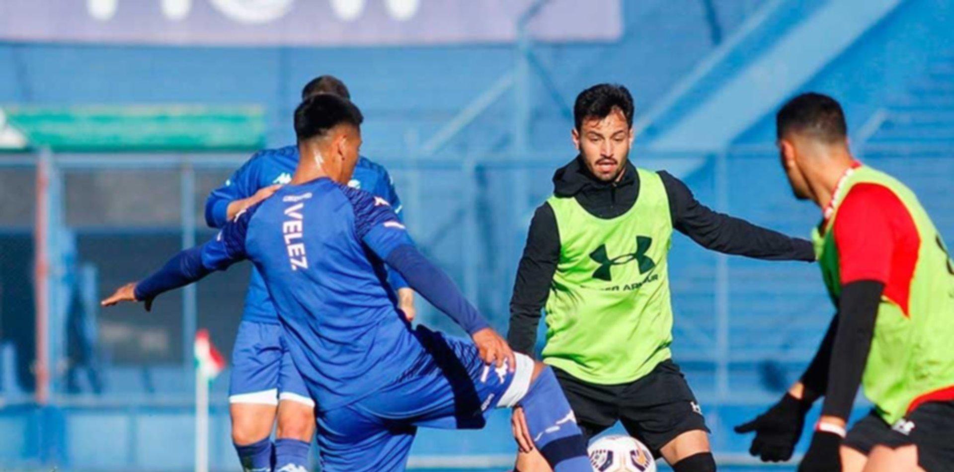 Estudiantes cayó frente a Vélez en un nuevo amistoso de pretemporada