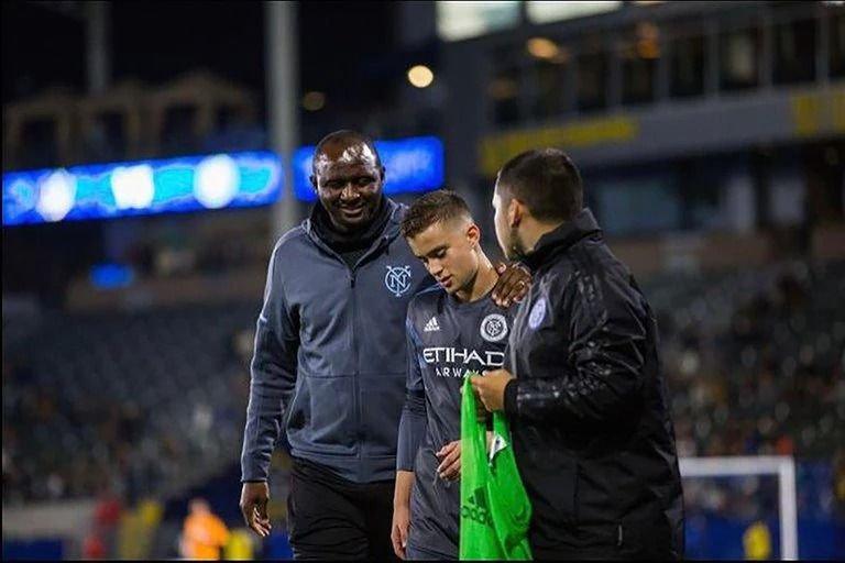 Jugó con Pirlo, Vieira y el Guaje Villa: ahora es una de las promesas de Estudiantes
