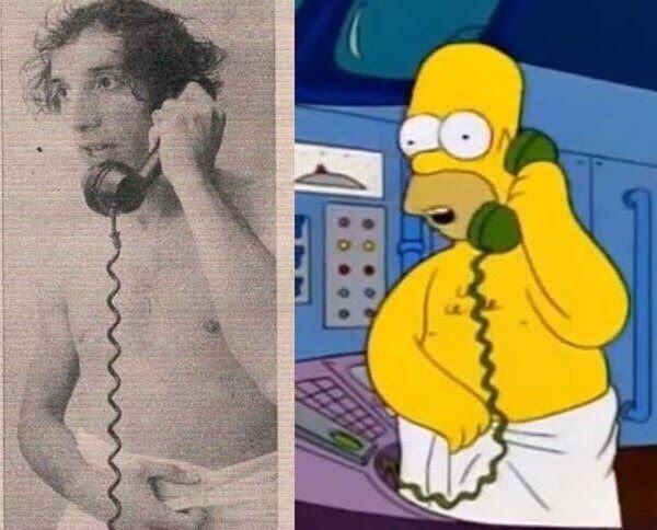 """""""Homero como Bilardo"""", el desopilante hilo de Twitter que se volvió viral"""