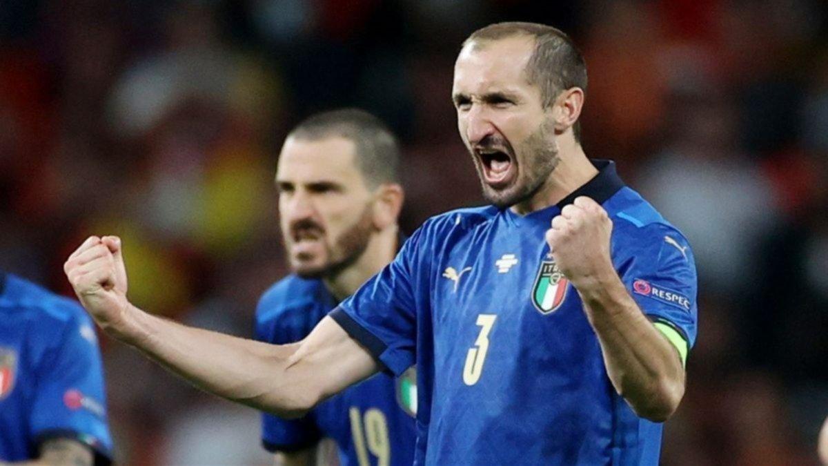 Una de las figuras del Italia campeón a lo Bilardo en los penales decisivos de la Eurocopa