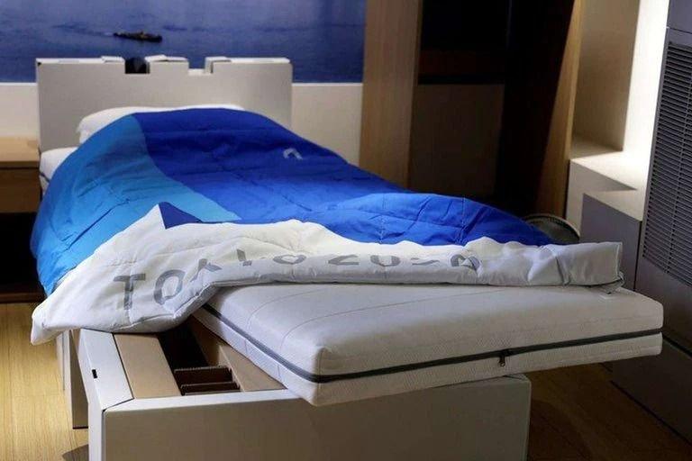 La inédita razón por la que las camas de los Juegos Olímpicos no soportan más de 200 kilos