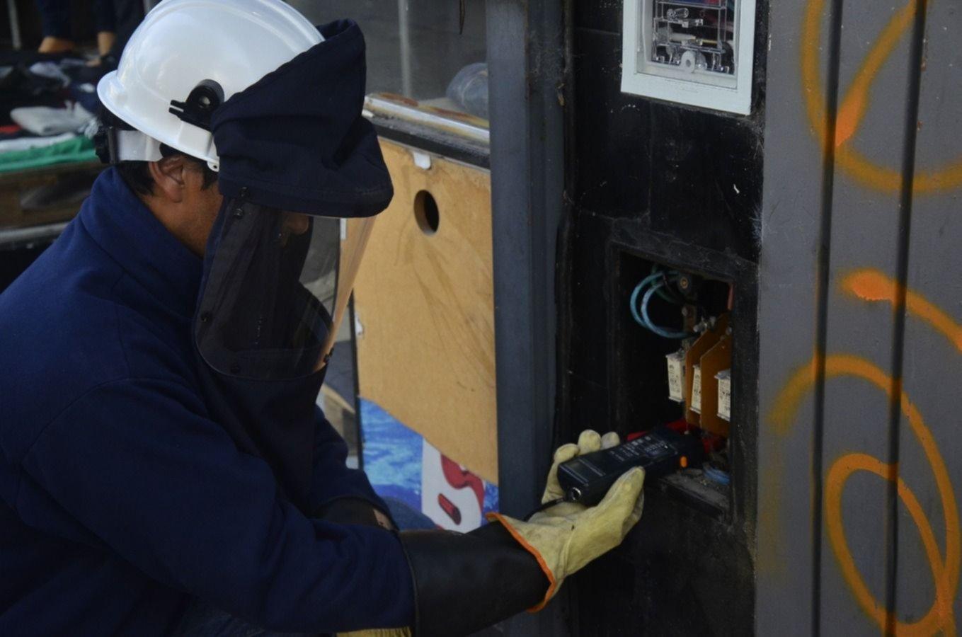 Edelap detectó conexiones clandestinas en comercios platenses y los denunciará penalmente