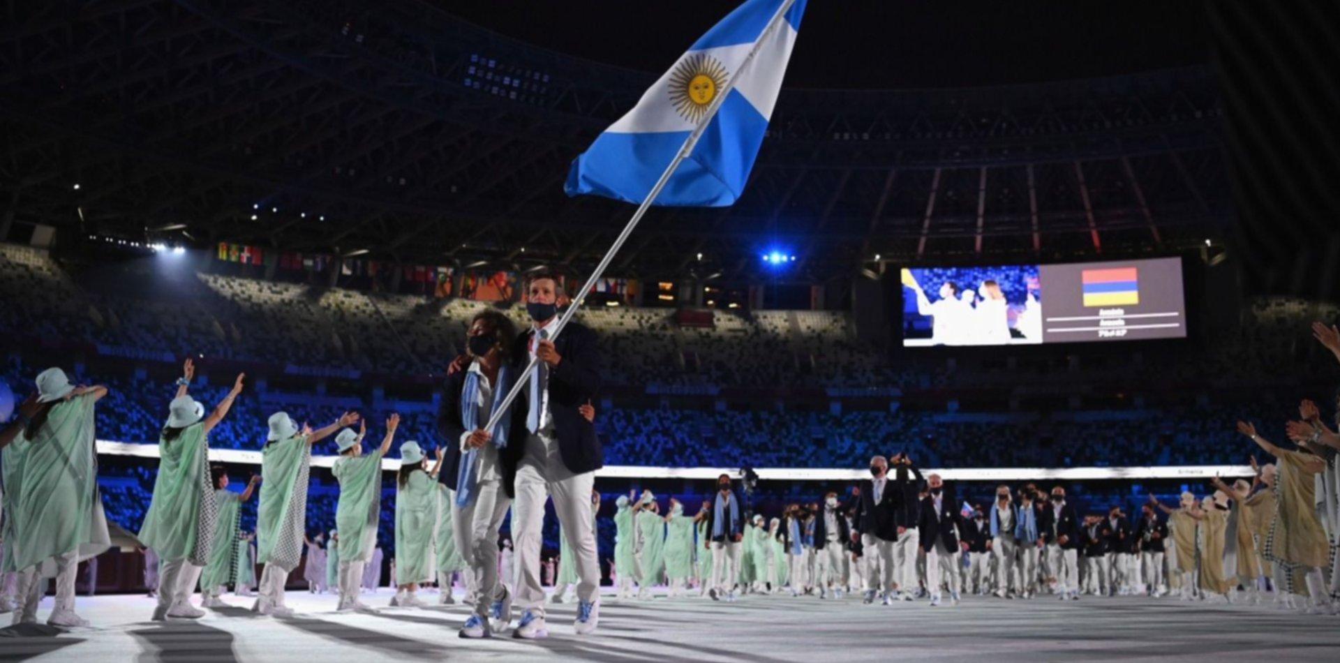 La agenda completa de los atletas argentinos en Tokio