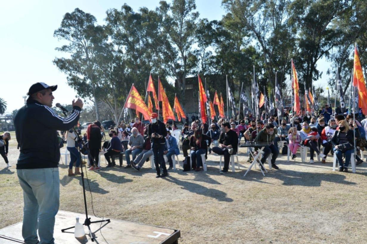 El FIT Unidad realizó una asamblea vecinal en Berisso a horas del cierre de listas