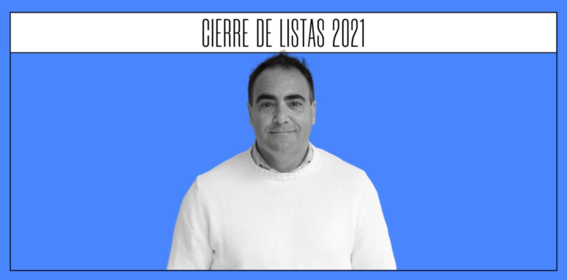 Marcelo Peña, el candidato de Gómez Centurión en la Octava