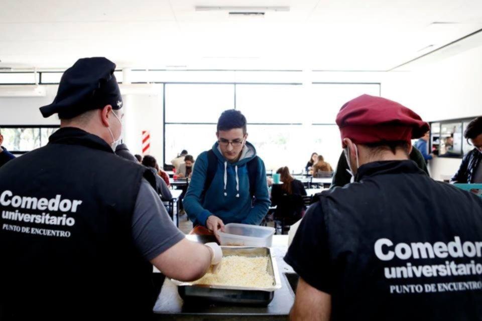La UNLP entregará bolsones de alimentos a los beneficiarios de la beca del Comedor