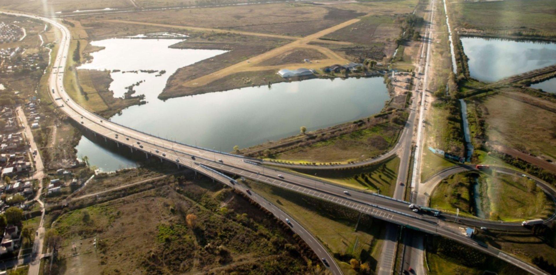 Por obras, la Autopista La Plata-Buenos Aires estará cerrada durante cuatro horas