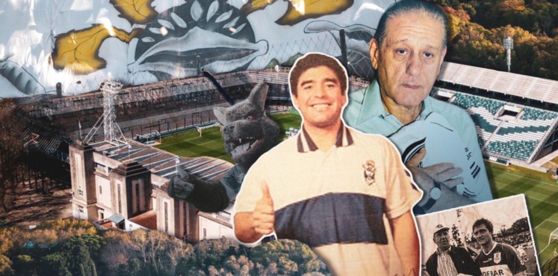 """Favaloro, Timoteo, Maradona, el Bosque y más, todo en """"22 historias cortas sobre Gimnasia"""""""