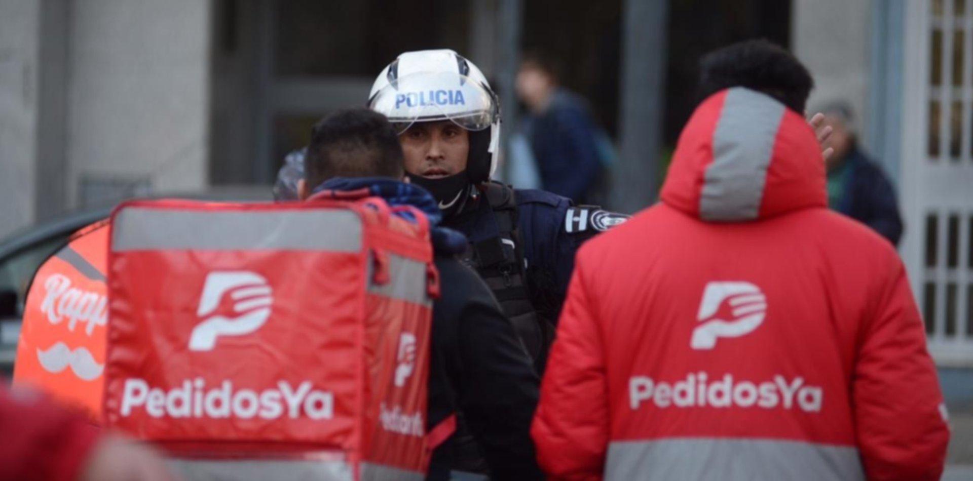 Tiros y amenazas en medio de dos brutales robos contra repartidores en La Plata