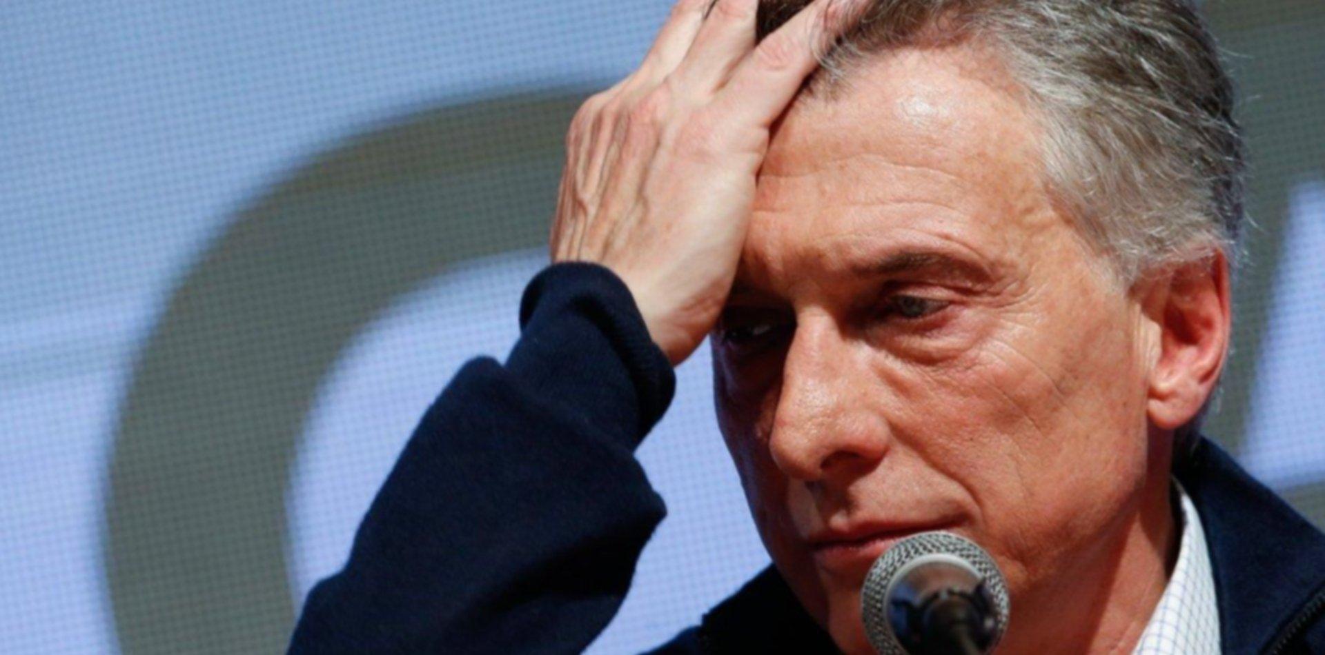 Tras la derrota de las PASO, Mauricio Macri negó que se adelanten las elecciones
