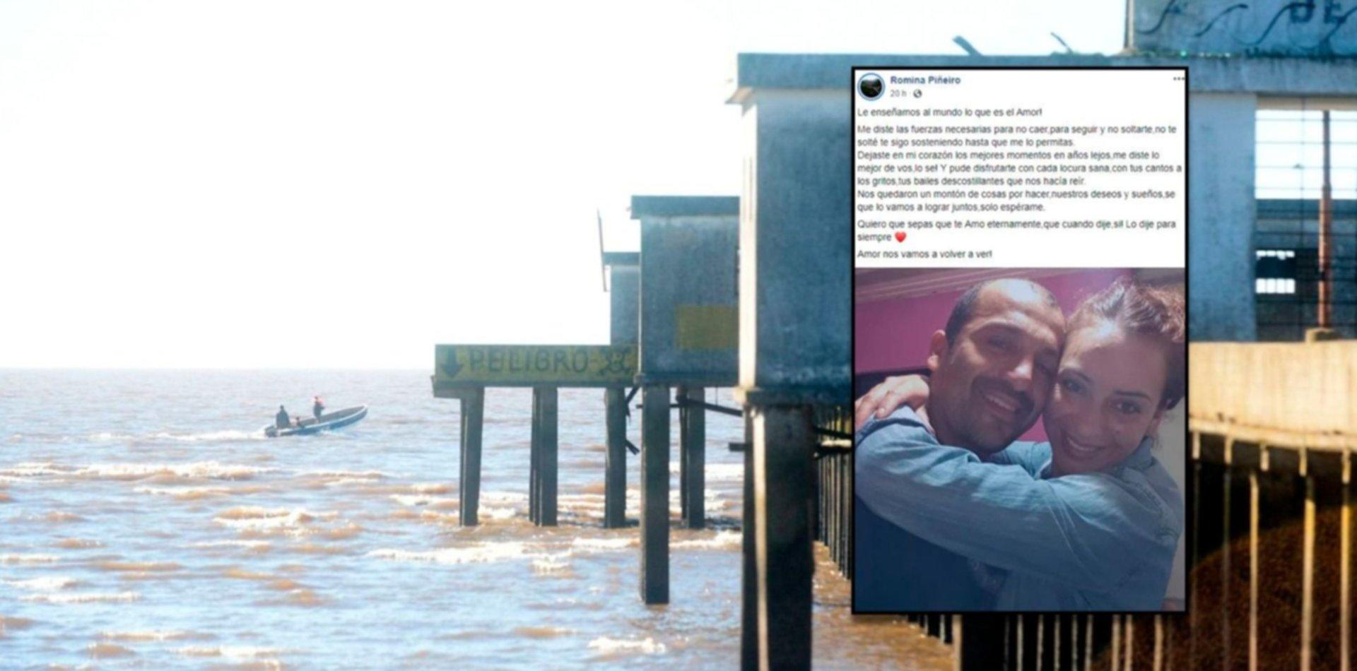 """""""Nos vamos a volver a ver"""", el dolor de la esposa de uno de los pescadores ahogados en Ensenada"""