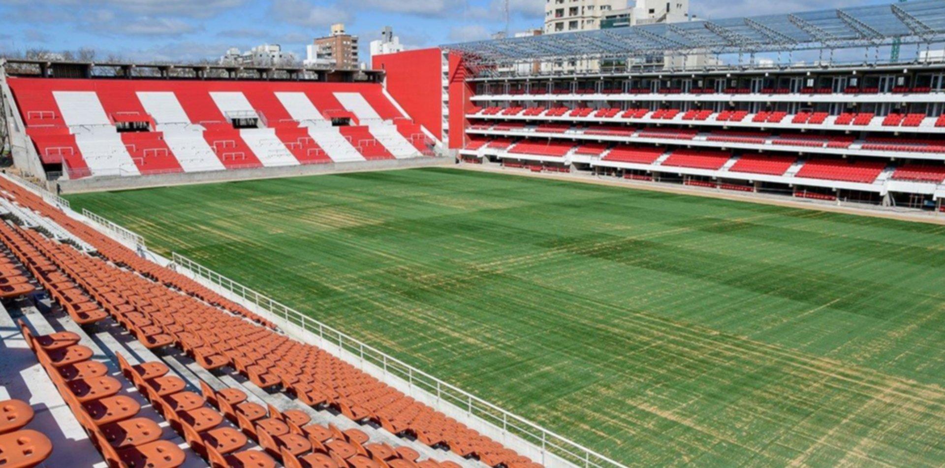 Vigilia, videos, shows y gastronomía: Verón adelantó cómo será la inauguración del Estadio de Estudiantes