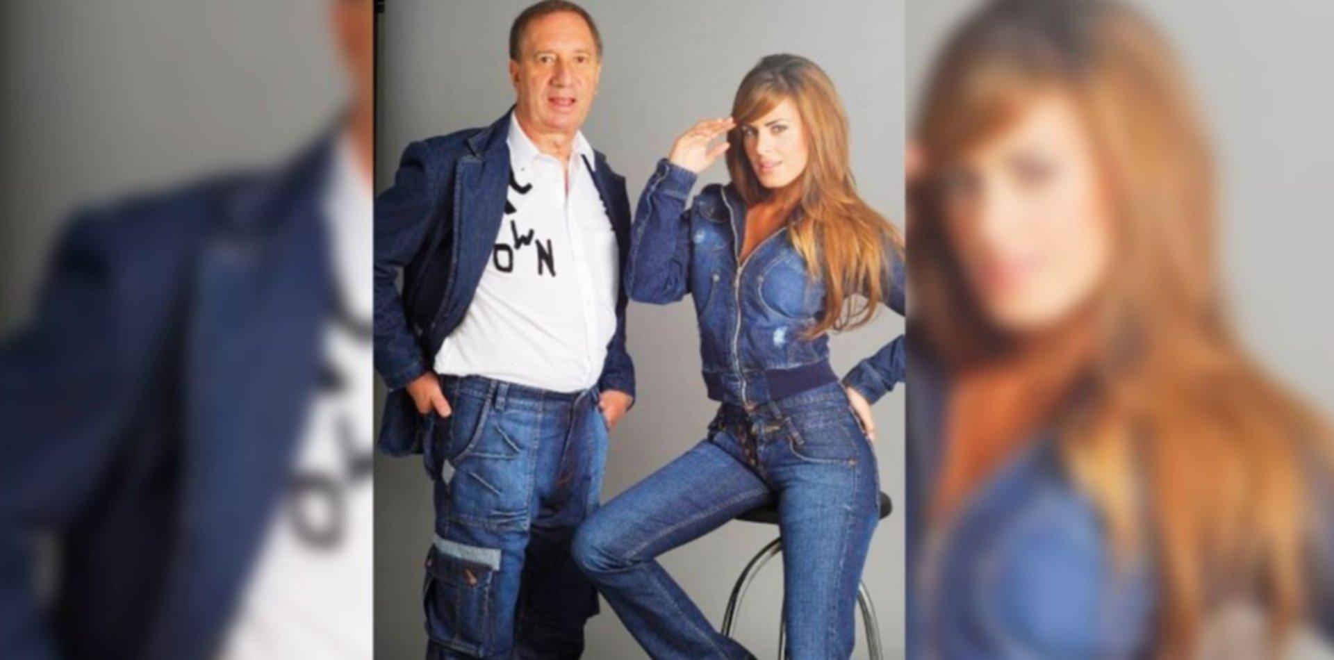Las fotos de una vieja publicidad que hicieron Bilardo y Silvina Luna se viralizaron