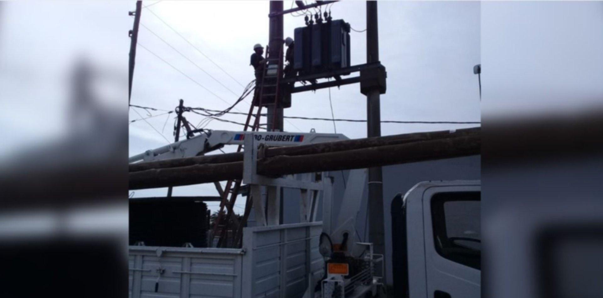 Continúan las obras y mejoras en el servicio eléctrico de La Plata