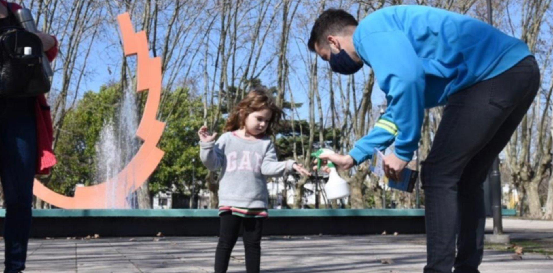 El Municipio suma agentes para controlar las medidas de prevención en parques y plazas