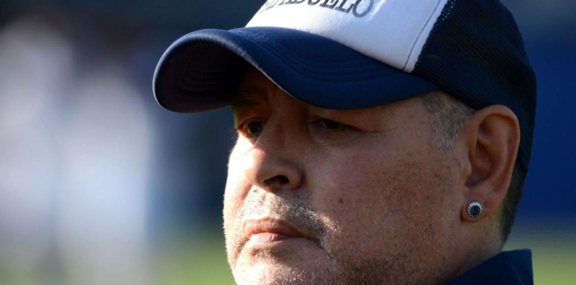 Las emotivas palabras de Maradona para su hermana tras la muerte de su cuñado por COVID-19