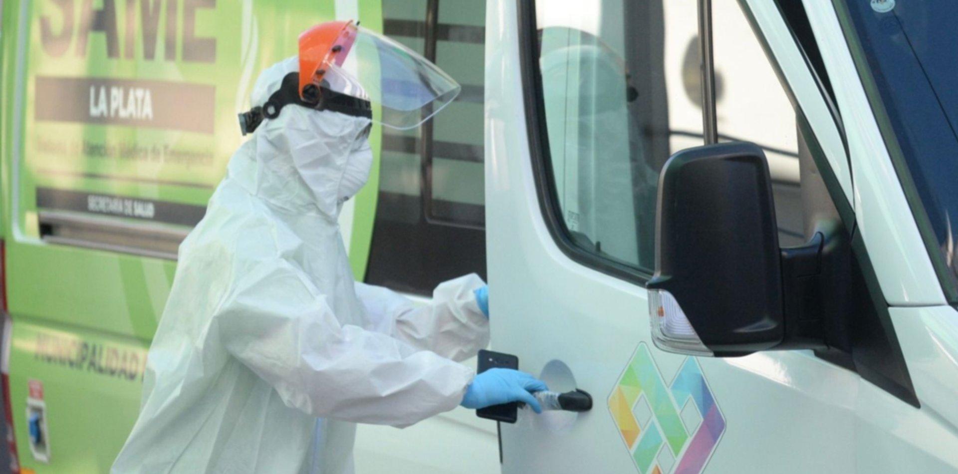 Confirman 12 nuevas muertes por coronavirus en La Plata y más de 100 contagios