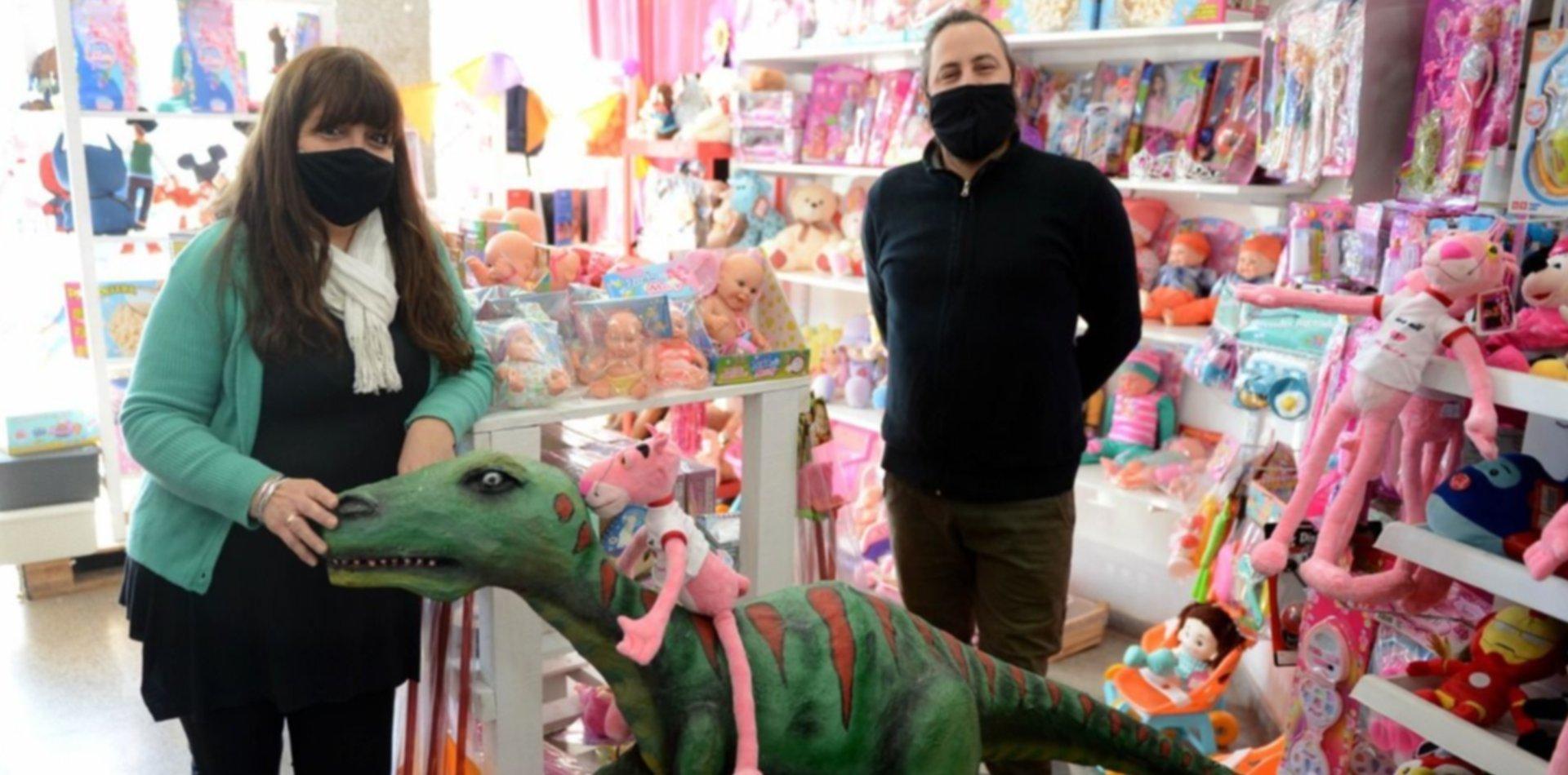 De la crisis al Día del Niño: la juguetería de La Plata que resistió a la pandemia