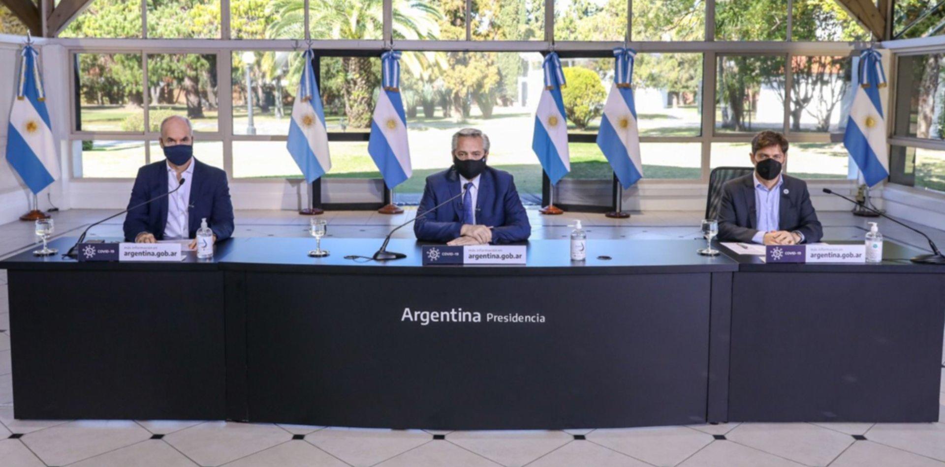 """Alberto Fernández: """"Mantenemos el esquema actual hasta el 30 de agosto"""""""