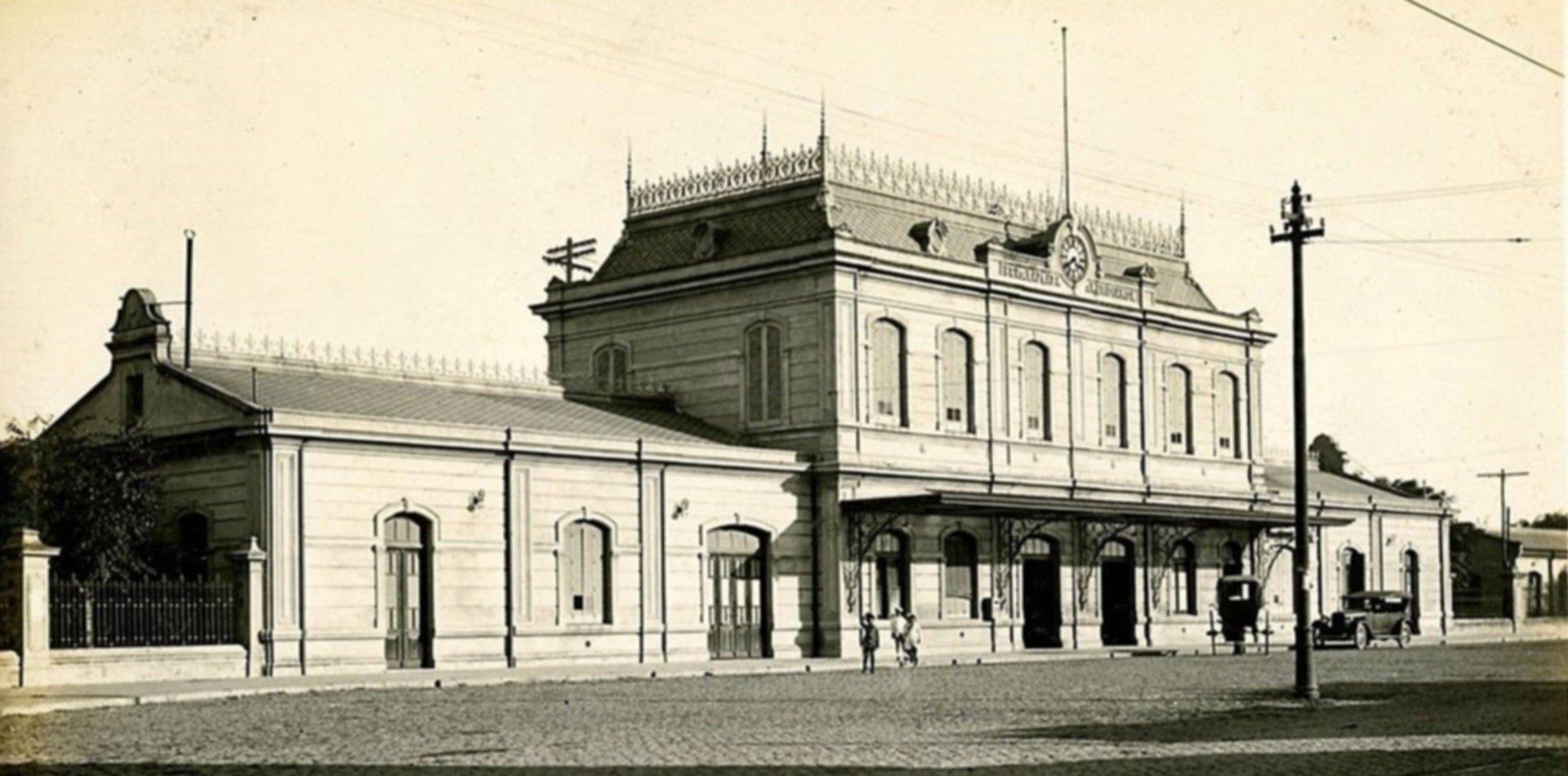 La Estación Provincial de Meridiano V cumple 111 años y se celebra de manera virtual