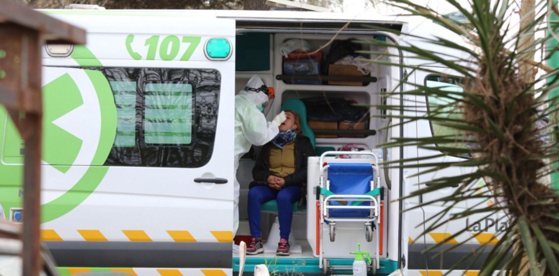 COVID en La Plata: 82 nuevos casos y no informaron los fallecidos