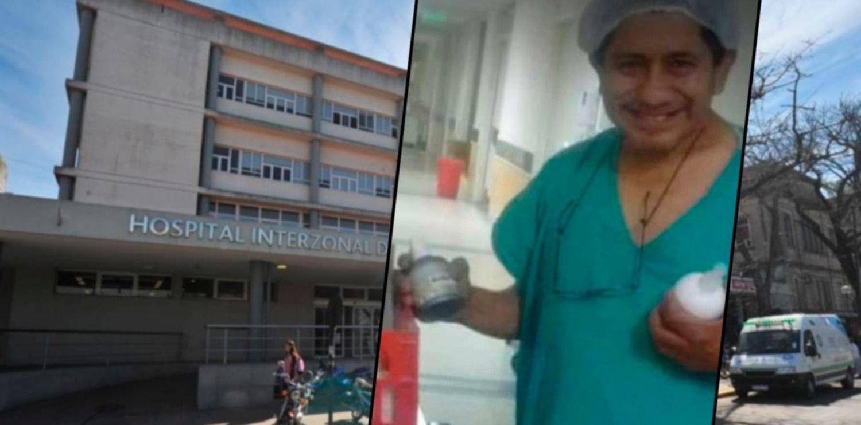 """""""Descansa amigo, terminó tu guardia"""", el doloroso adiós al enfermero del Hospital de Niños"""
