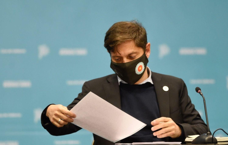 """Kicillof habló tras los cambios en su Gabinete: """"Debemos dar respuestas en lo económico"""""""