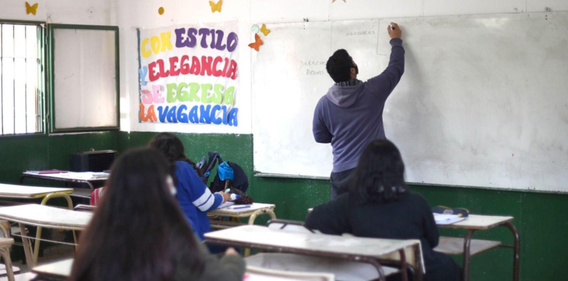 ¿Qué alumnos deberán ir a clases los sábados y a contraturno en la provincia?