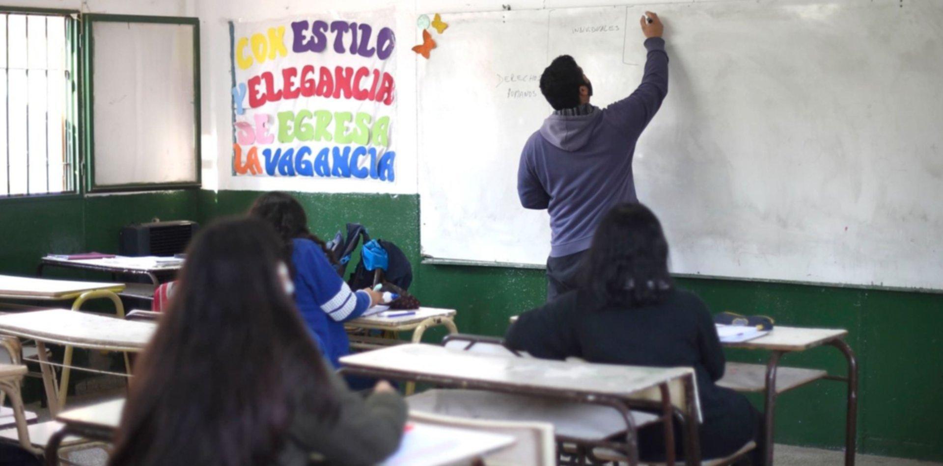 Provincia confirmó que darán clases los sábados a los chicos con problemas por la pandemia