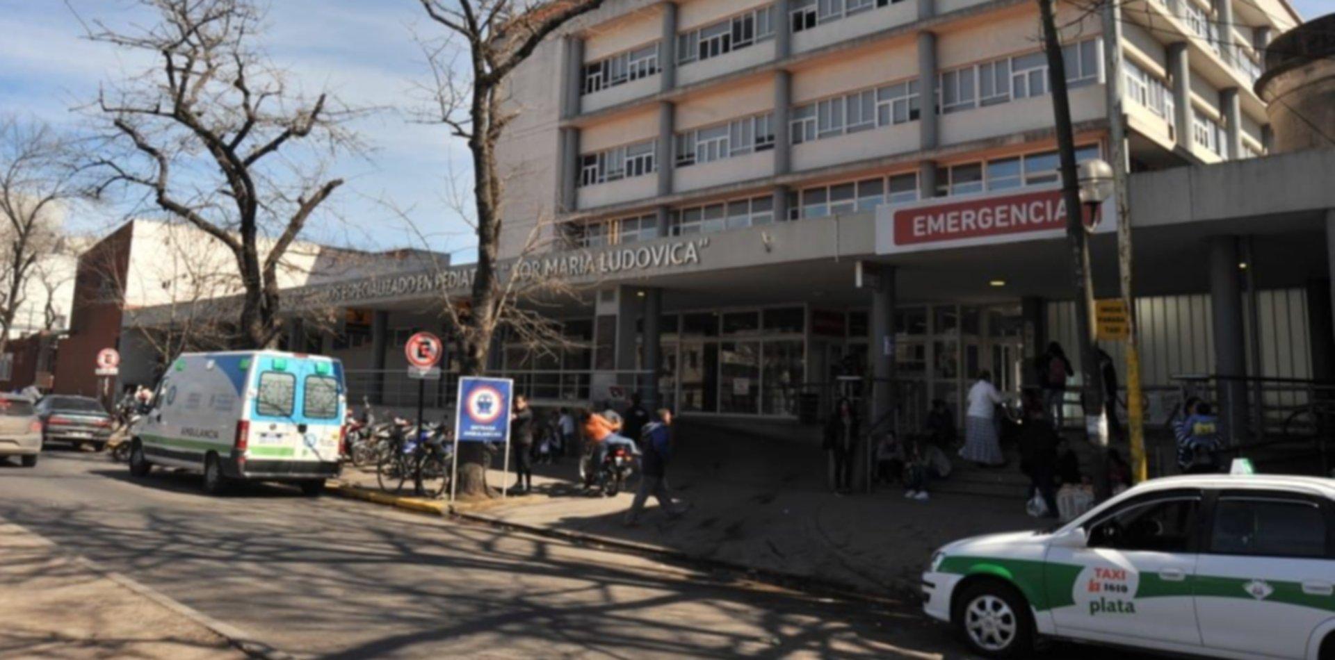 Milagro en La Plata: médicos le salvaron la vida a un nene que se electrocutó con una bomba de agua