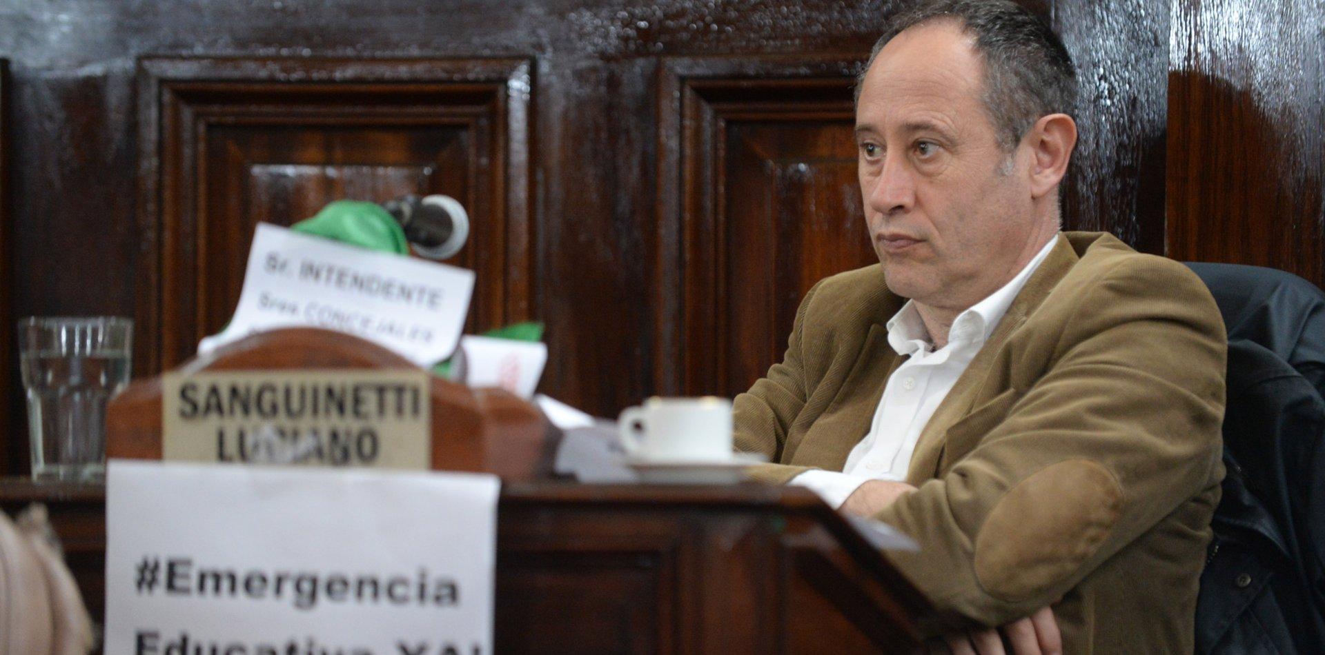 Arrancó la campaña: el concejal Sanguinetti se lanzó para ser intendente de La Plata