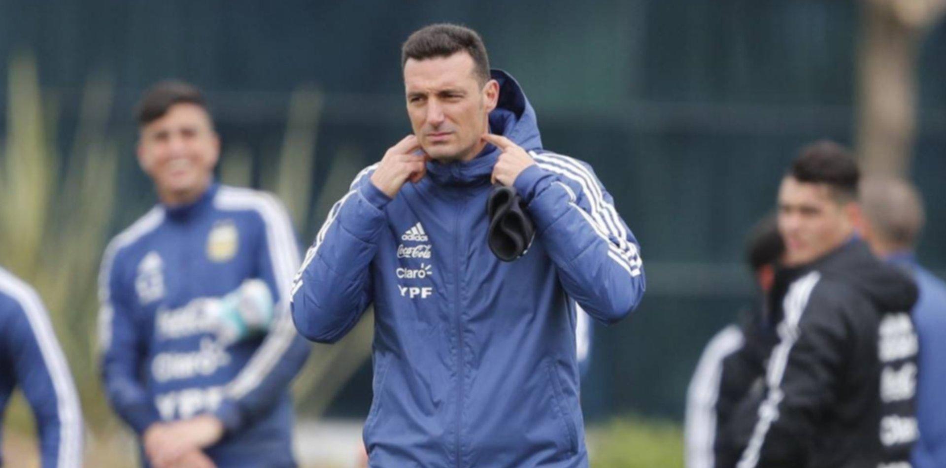 Los cambios que piensa Scaloni para recibir a Perú y la sede para jugar contra Brasil