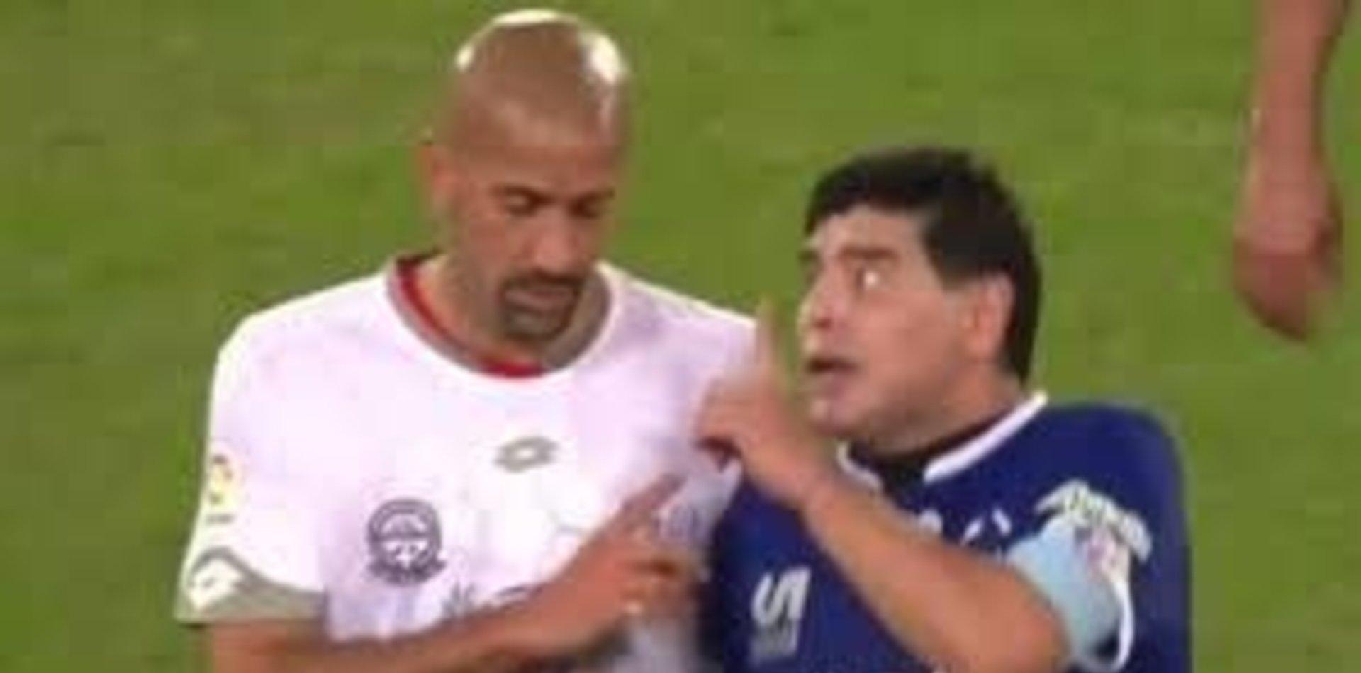 El fuerte palo de Maradona ¿a Verón? en medio de su posible llegada al Lobo