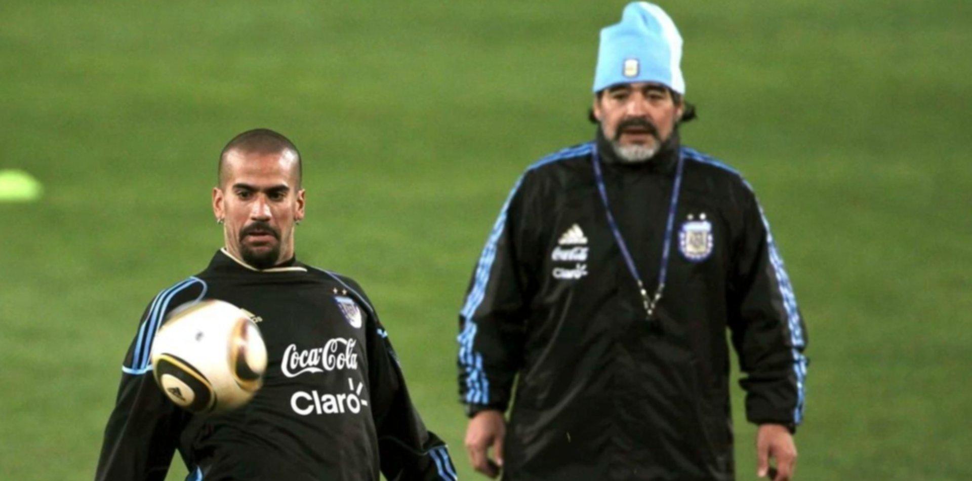 """Morla explicó el duro mensaje de Maradona: """"Fue para Verón, Diego está muy dolido con él"""""""