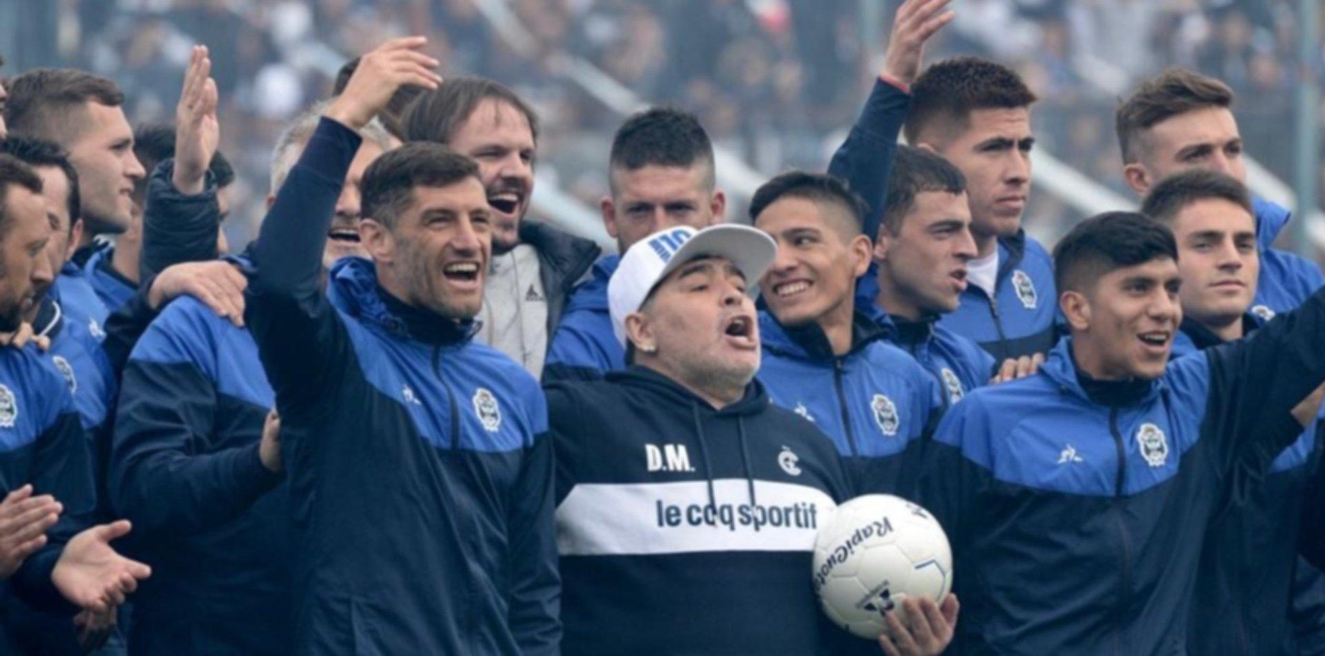 Lucas Licht reveló por qué el plantel de Gimnasia no pudo ver a Maradona antes de morir