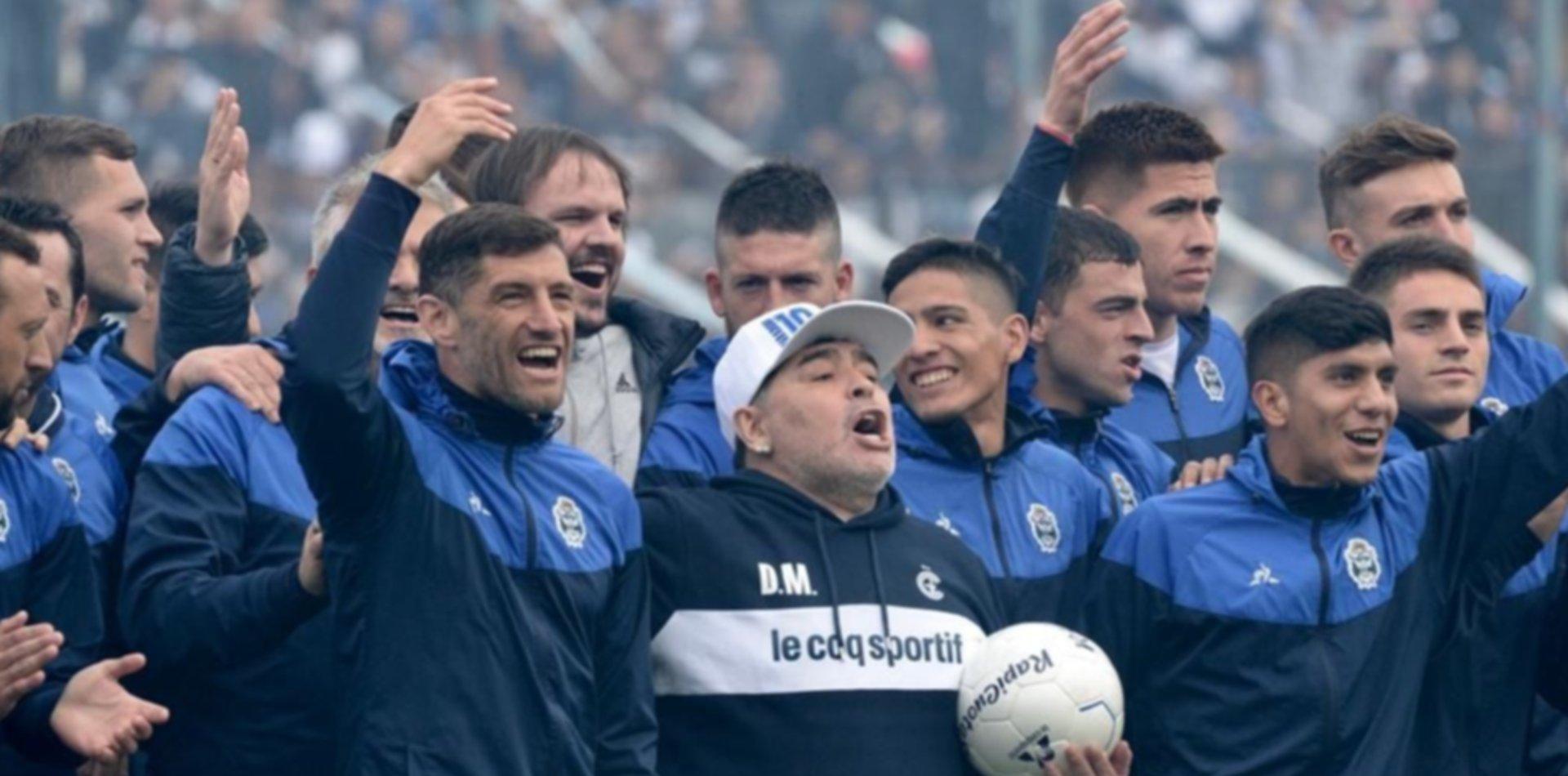 Revelan cuáles fueron las últimas palabras de Diego Maradona para el plantel de Gimnasia