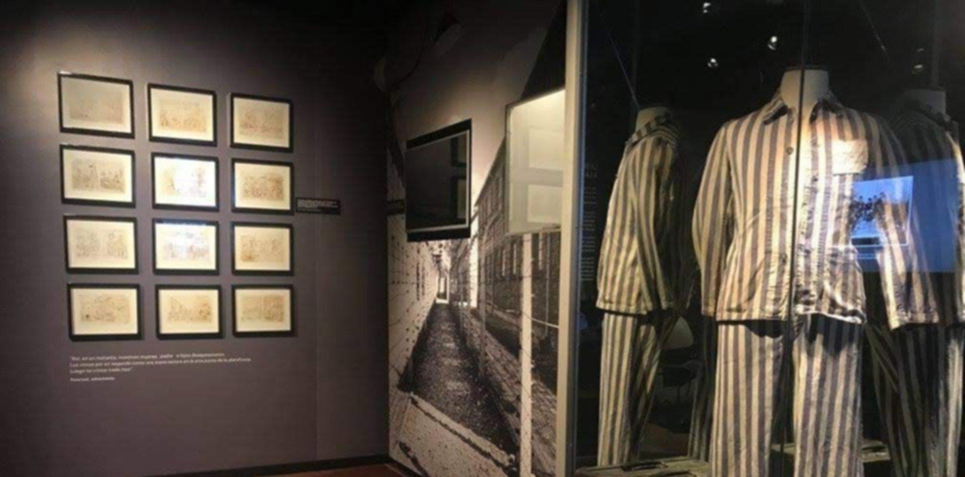 """El Museo del Holocausto de Buenos Aires llega a La Plata con """"Reflexiones sobre la Shoá"""""""