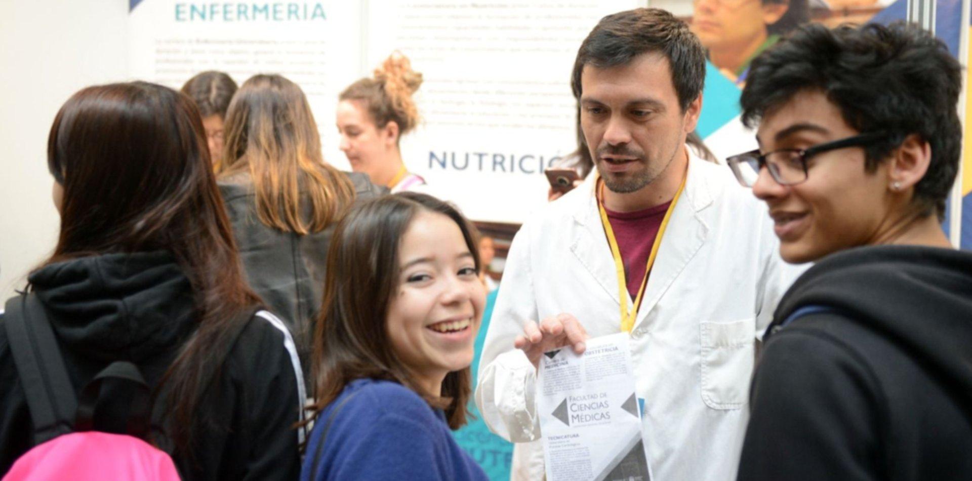 Todas las fotos del lanzamiento de una nueva Expo Universidad en La Plata