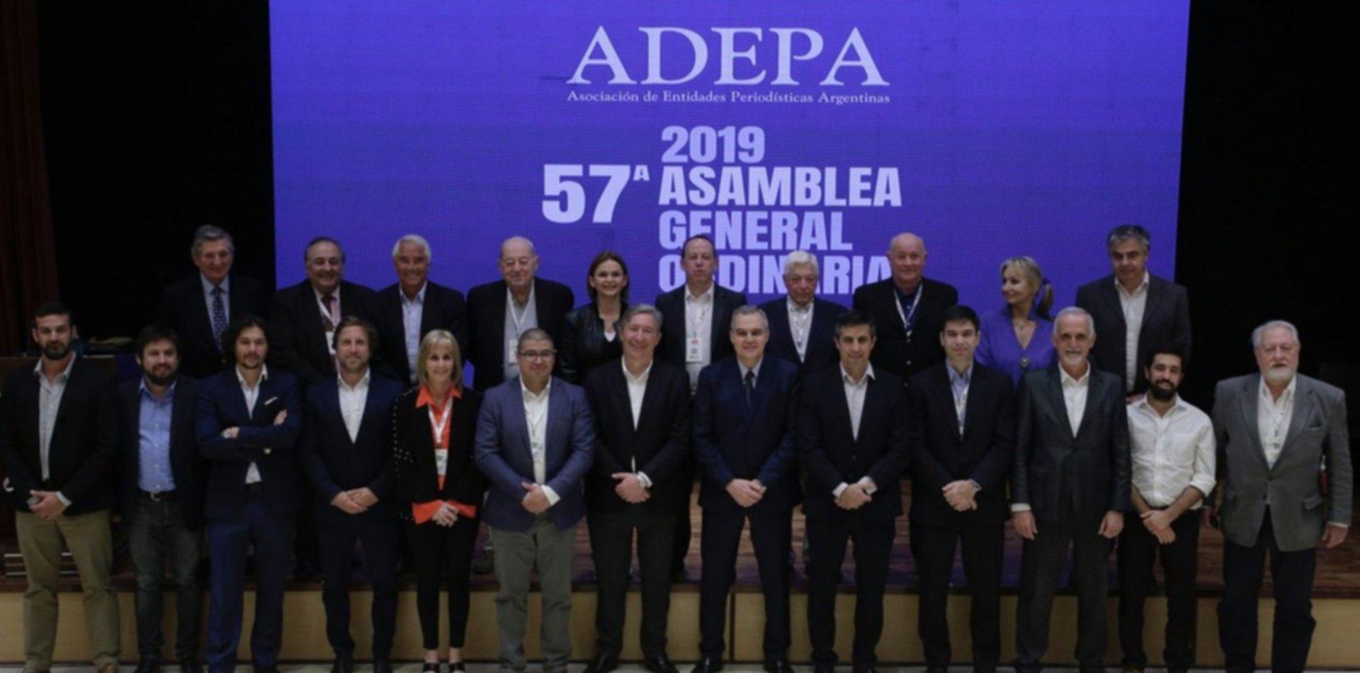 ADEPA constituyó el nuevo Consejo Ejecutivo para el período 2019-2020