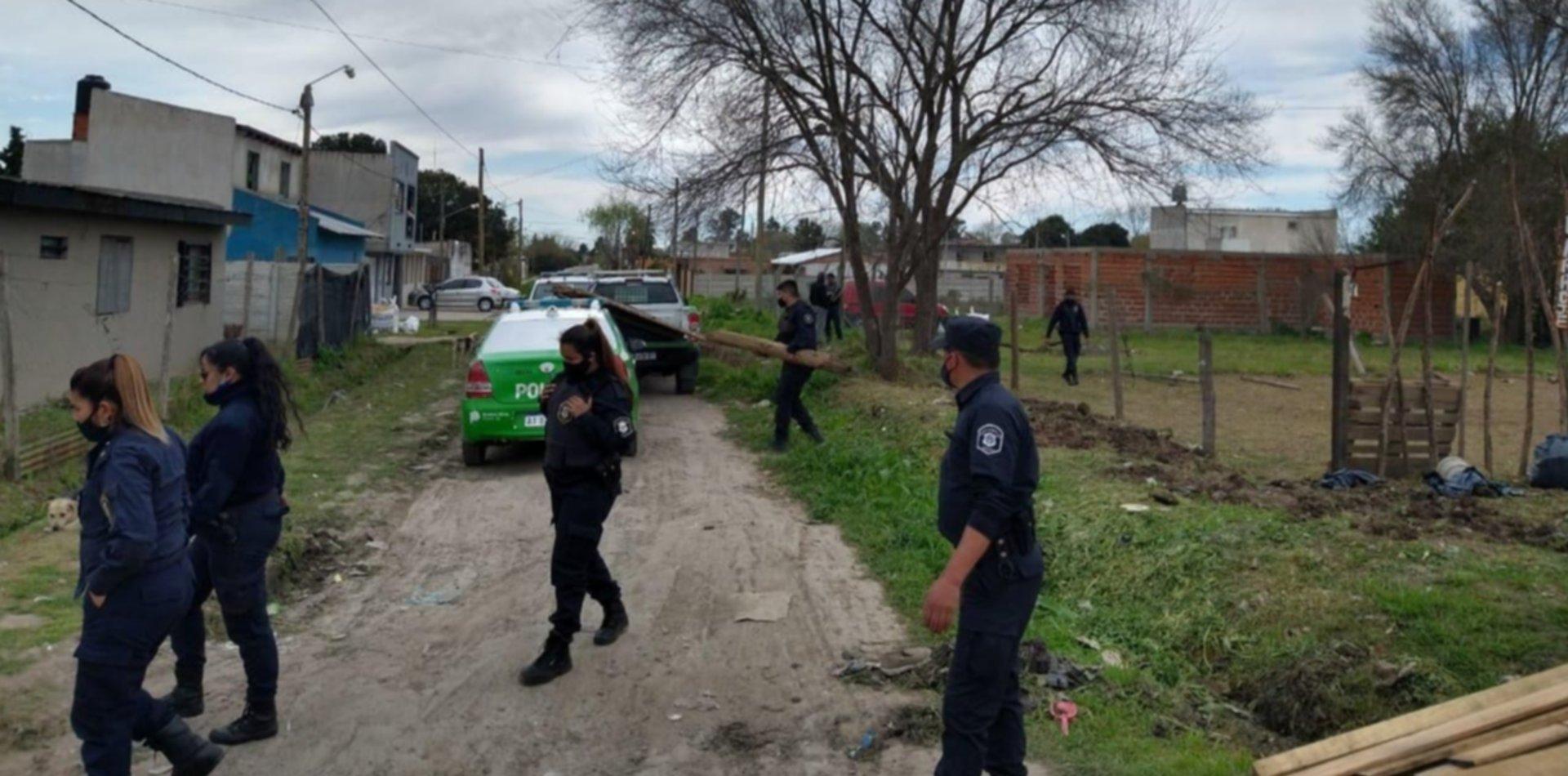 Dos mujeres intentaron usurpar un espacio verde y público de La Plata