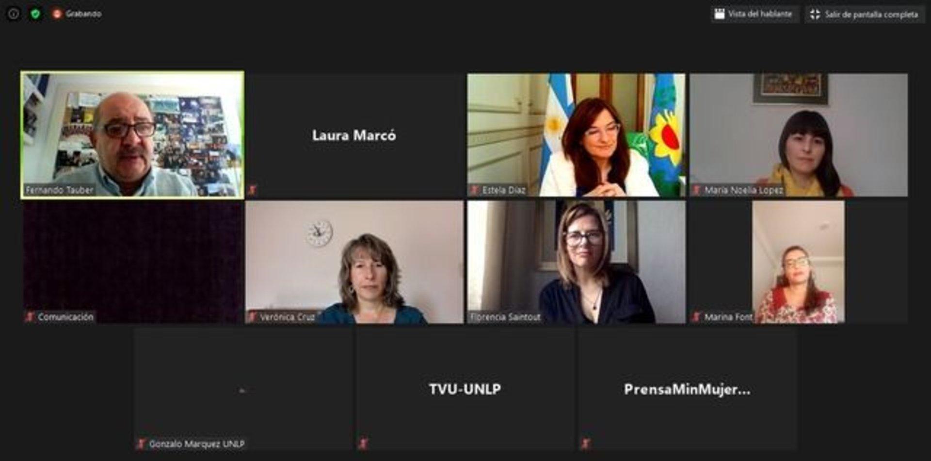 La UNLP y el Ministerio de Mujeres bonaerense firmaron un convenio de cooperación