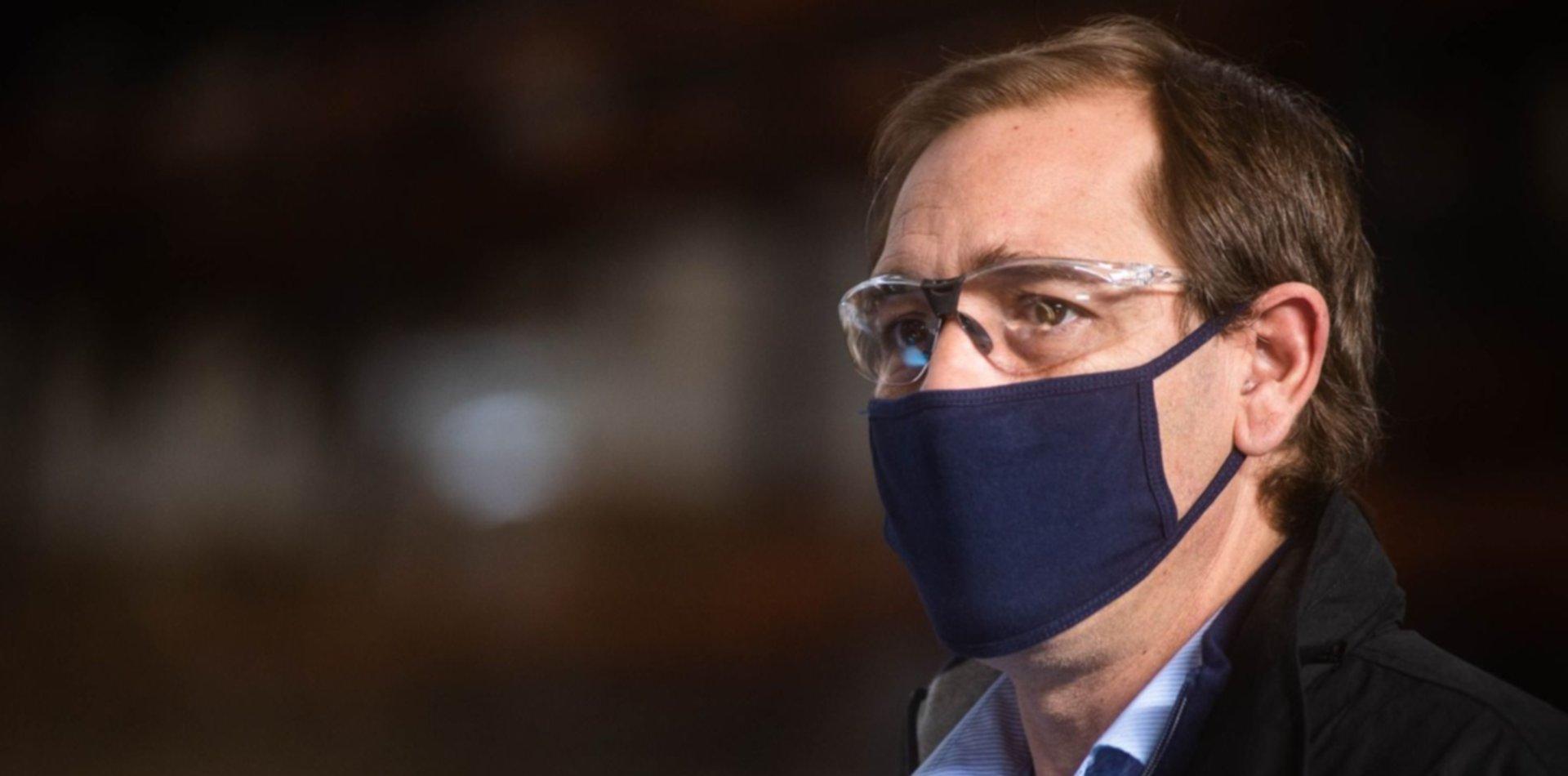 Garro dio detalles de las medidas en La Plata y restricciones en los Centros Comerciales