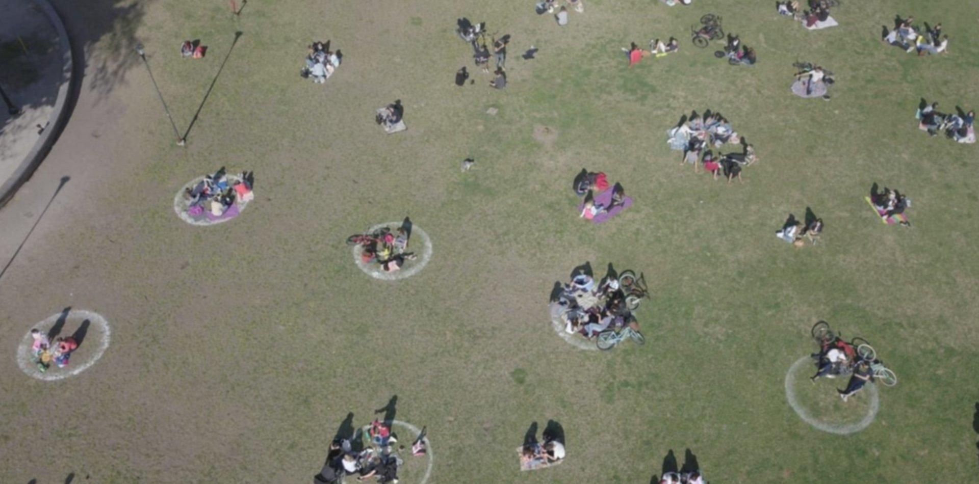 VIDEO: Así se vivió el Día de la Primavera en las plazas y parques de La Plata