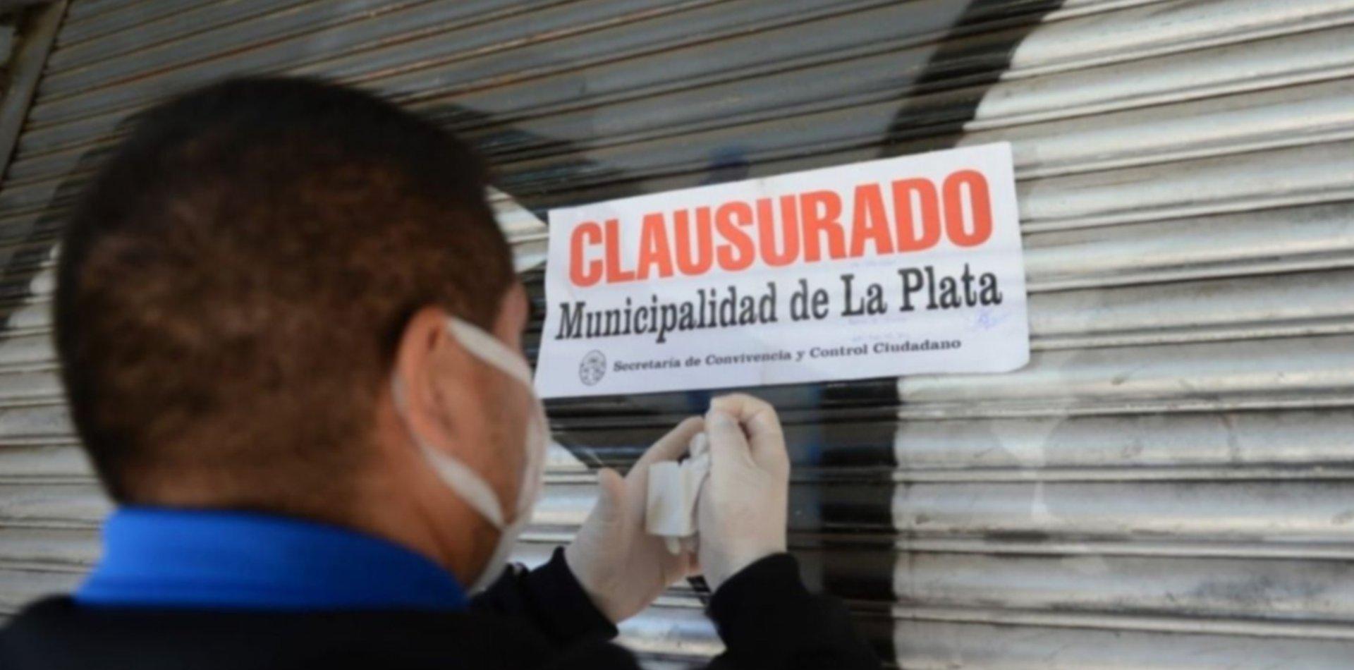 Clausuraron restaurantes de Diagonal 74 por atender clientes dentro de los locales