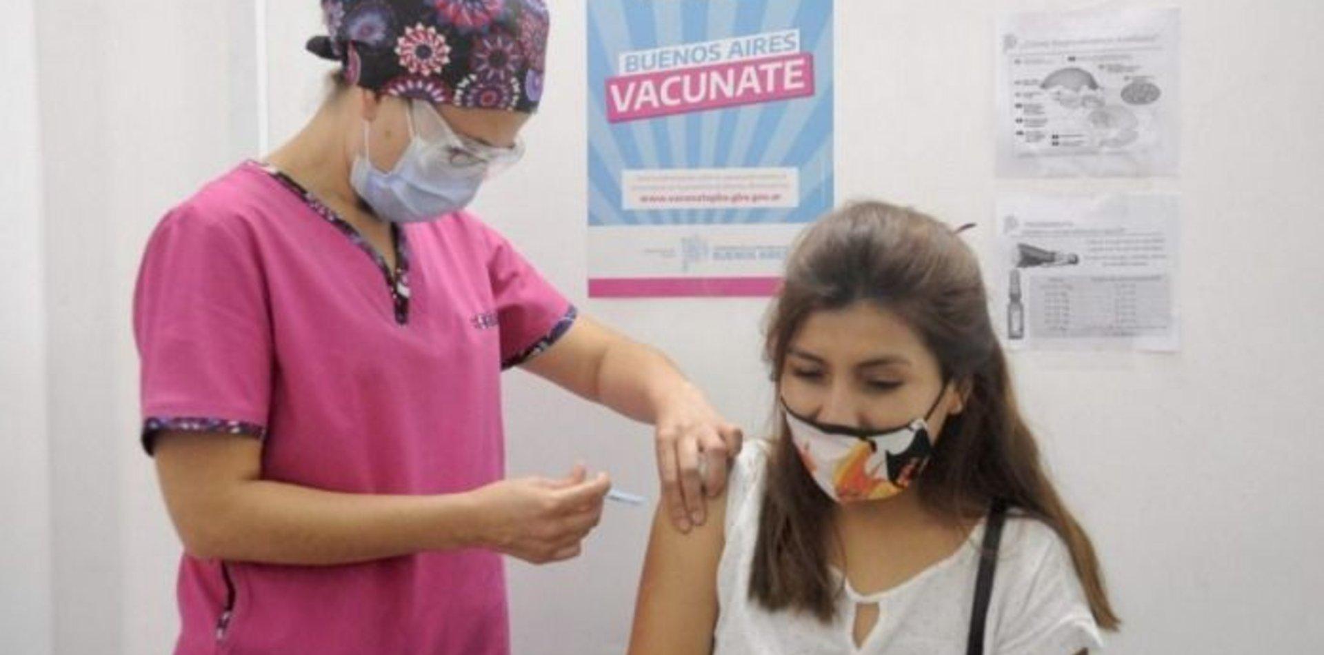 Provincia envió casi 500.000 nuevos turnos para completar esquemas de vacunación
