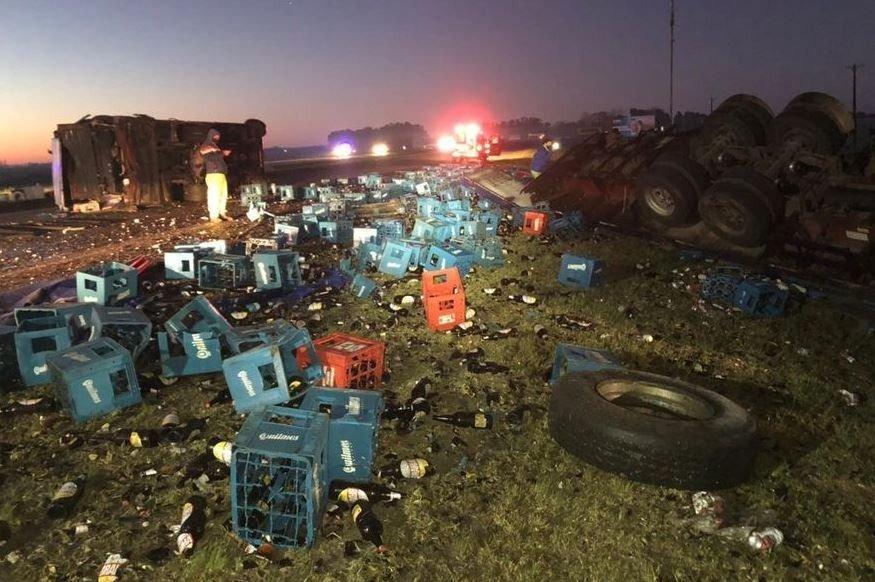 Tragedia en la Ruta 2: confirman que murió un bebé de 4 meses en el triple choque