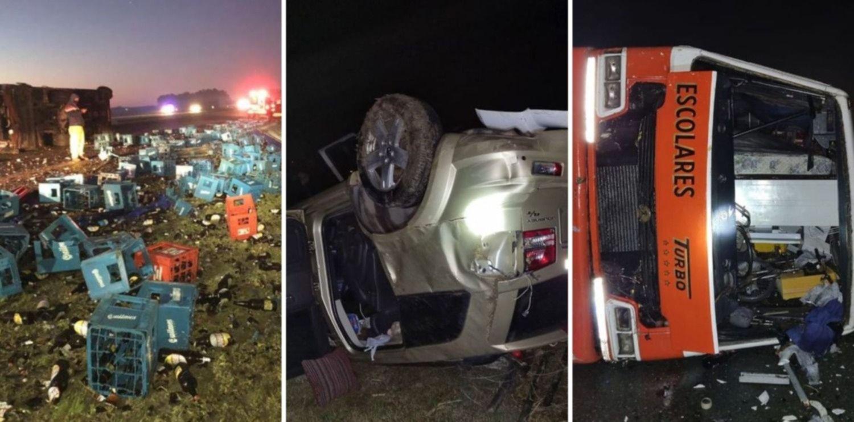 VIDEO: Así rescataron a los heridos en el trágico choque en la Ruta 2