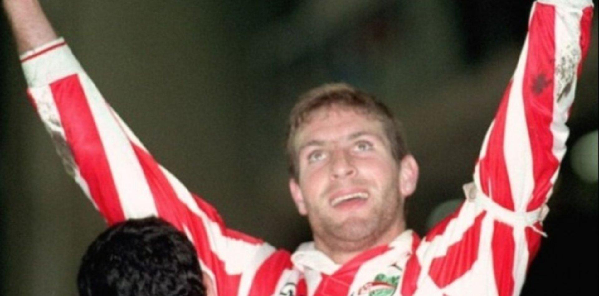 Martín Palermo volvió a jugar con la camiseta de Estudiantes